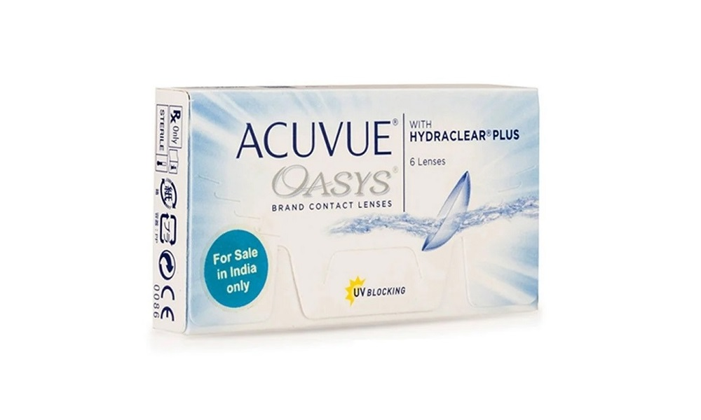 Johnson & Johnson ACUVUE OASYS with HydraClear Plus (6 ...
